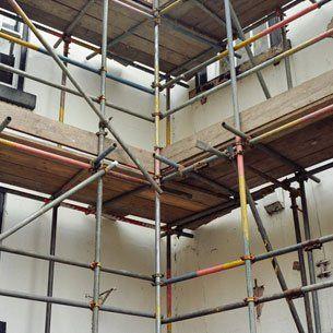interior construction work