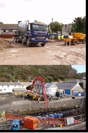Ready Mix Concrete - CORNWALL - Faheys Concrete Ltd - Concrete Mixer