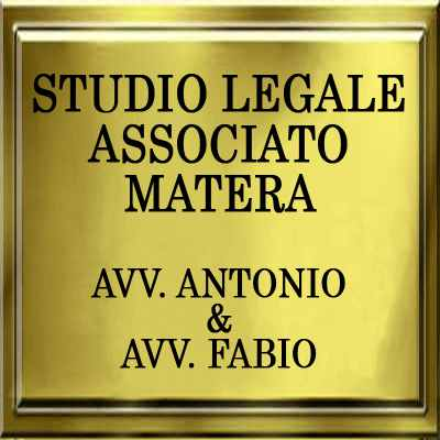 STUDIO LEGALE ASSOCIATO MATERA AVV. ANTONIO & AVV. FABIO-Logo