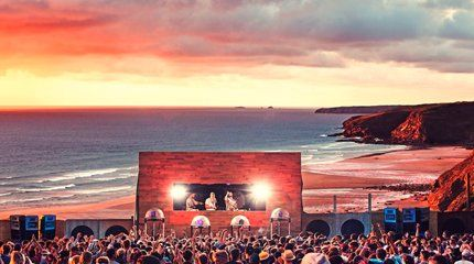 concert by the beach