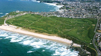 Newquay golf course