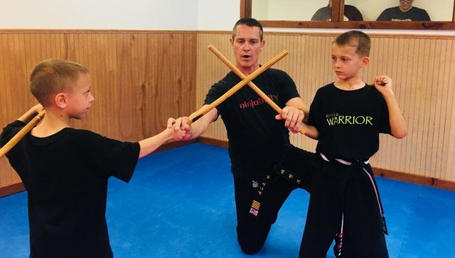 Ninja Warrior 9 and 10 Year Old Classes  Ninja Training with