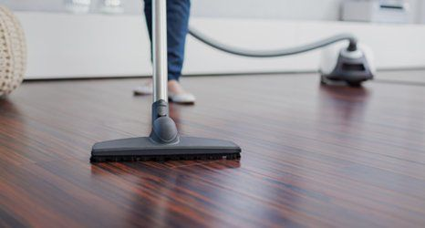 wooden floor cleaning