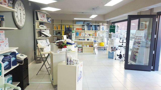 interno di un negozio di ortopedia