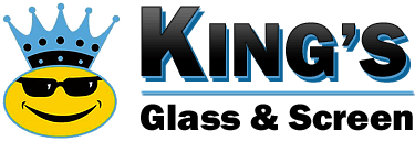 kings glass and screen logo