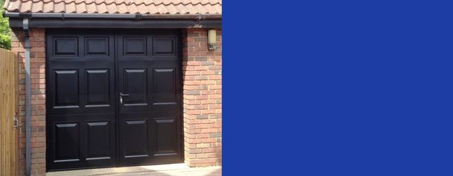 Side Hinged Garage Doors Expertly Installed In Hertfordshire