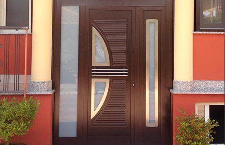 Porta esterna blindata A.D.P. Infissi srl a Marigliano