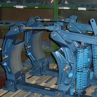 Do you need overhead crane brake relining? Contact us in
