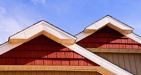 sloped roof