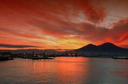 tramonto pozzuoli