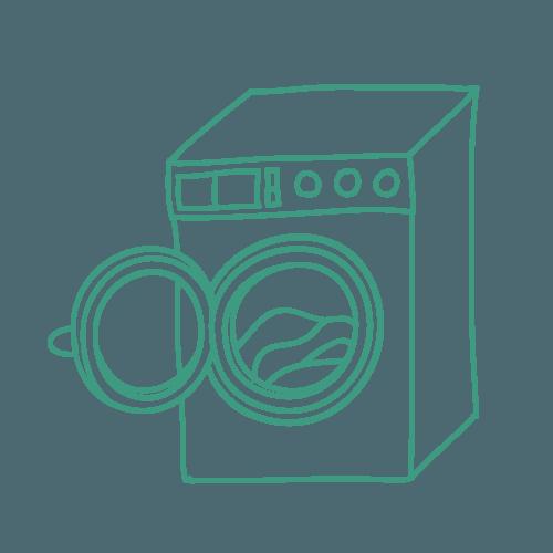 Disegno di una lavatrice