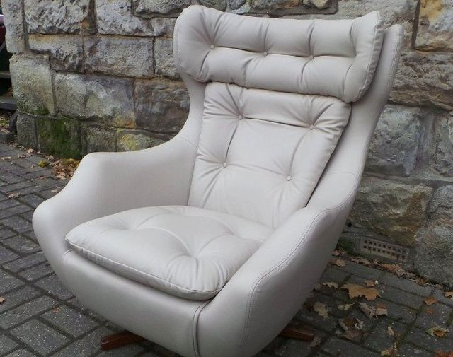 Elegant grey chair