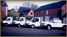 wooden gates - Market Harborough, Leicestershire - Mancraft Fencing Ltd - service van
