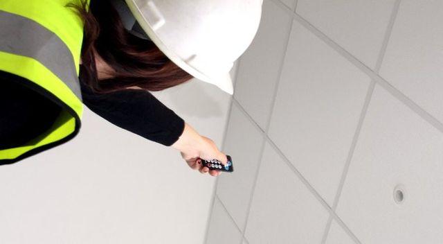 Commissioning DALI lighting controls