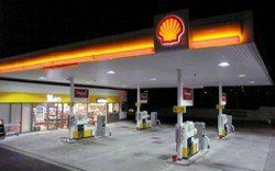 Shell forecourt controls