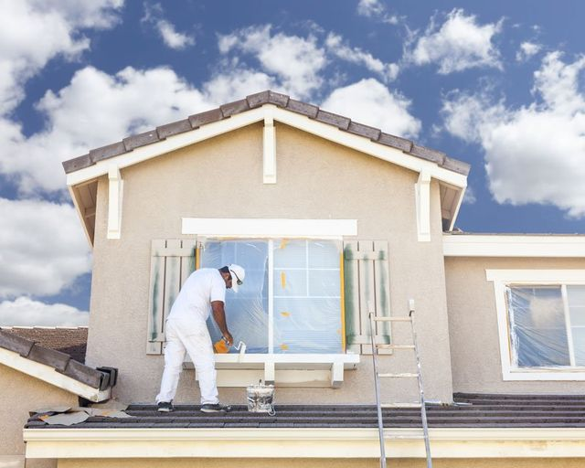 One of our tradespeople providing painting and remodeling services in Anchorage, AK