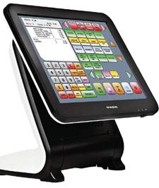 uno schermo touch screen di una cassa