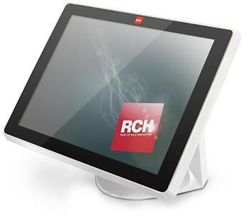 uno schermo con scritto RCH