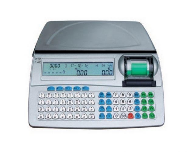 una bilancia digitale con dei tasti