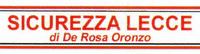 SICUREZZA LECCE di de rosa oronzo - LOGO