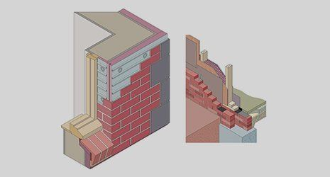 graphic of sound proofing wall