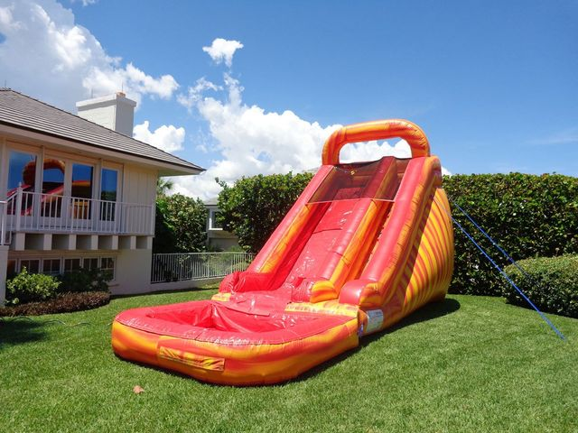 17 foot Dry Slide - Inflatable