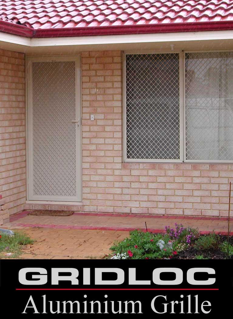 GRIDLOC Hinged Double Security Doors