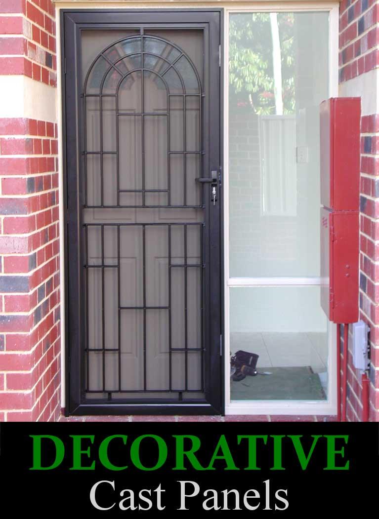 Decorative SP13 Cast Panel Hinged Door
