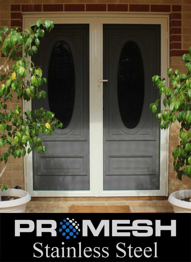 PROMESH Hinged Double Security Doors