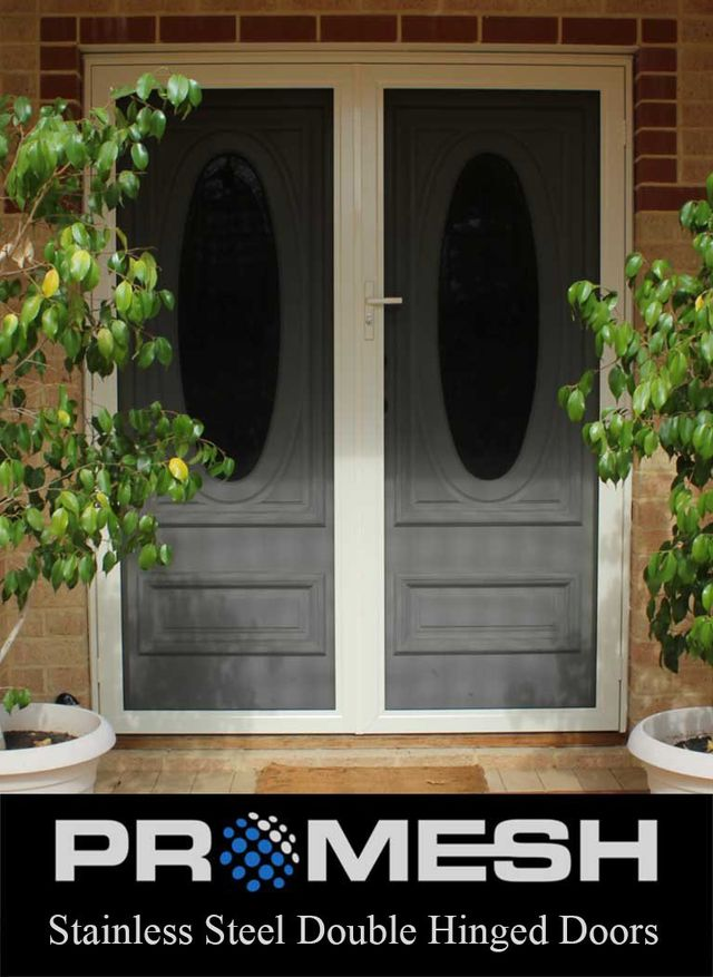 PROMESH Double Hinged Security Doors