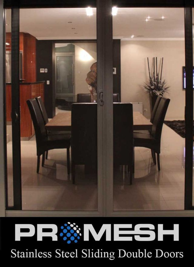 PROMESH Sliding Double Security Doors
