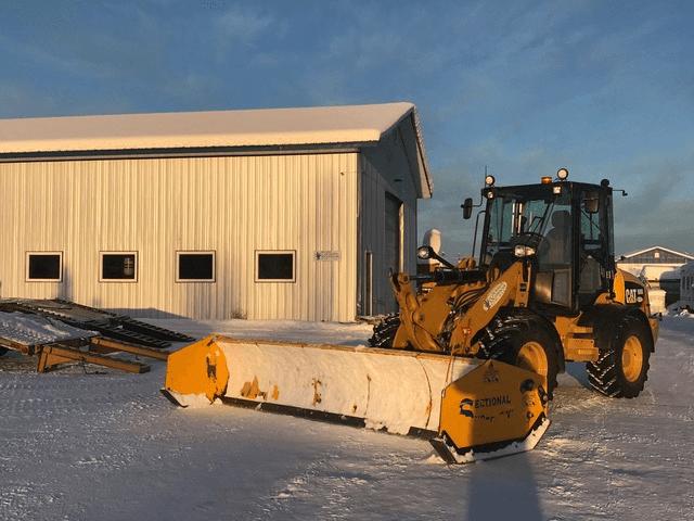 snow plow service in Fairbanks Alaska