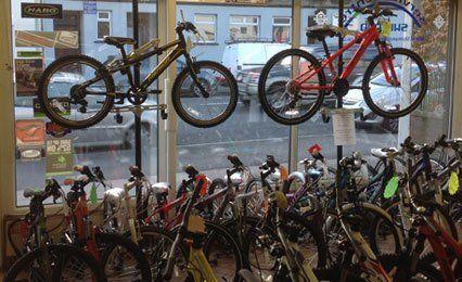 Sturdy mountain bikes
