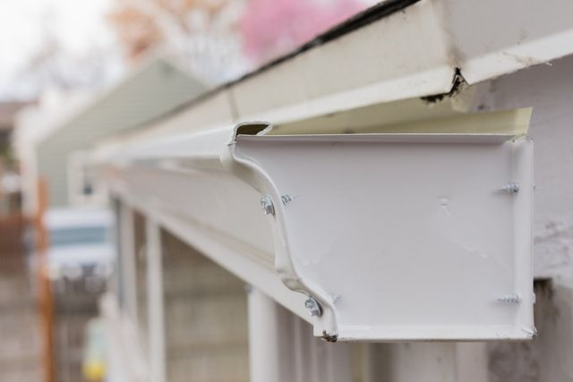 3 TIPS FOR CHOOSING THE COLOR OF YOUR HOME'S GUTTERS Rain Gutters For Mobile Homes on radiant barrier for mobile home, insulation for mobile home, stucco for mobile home, doors for mobile home, gutter guards for mobile home, shutters for mobile home, fascia for mobile home, fencing for mobile home, trim for mobile home, skylights for mobile home, metal roofing for mobile home, landscaping for mobile home, roof for mobile home, cabinets for mobile home, trusses for mobile home, concrete for mobile home,