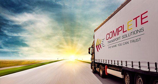 truck ans sunset