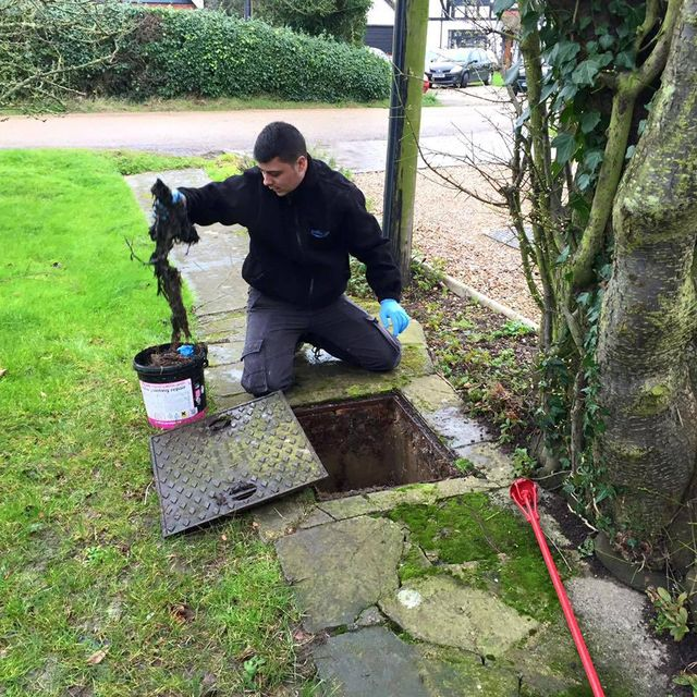 Maintaining a drain