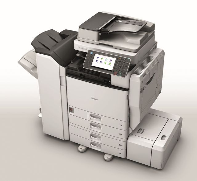 Ricoh MPC3502 (2nd User) Colour System