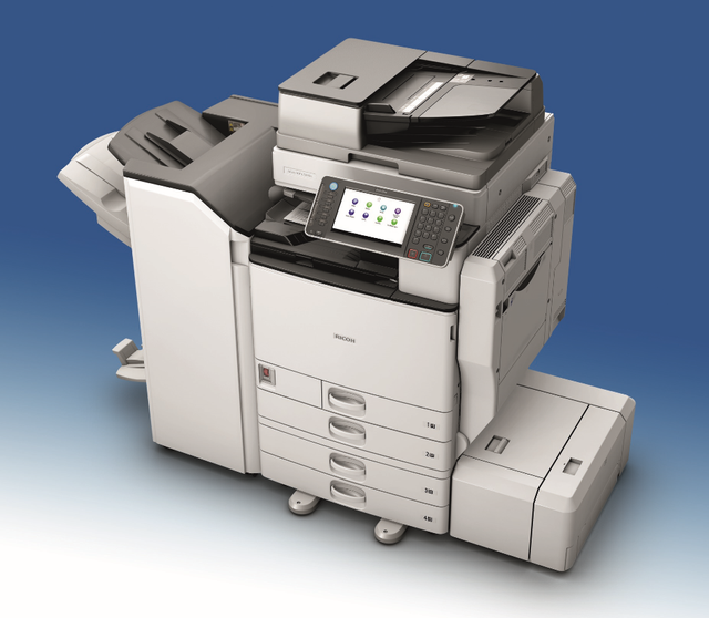 Ricoh MPC5502 (2nd User) Colour System