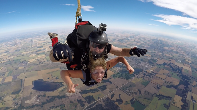 Tandem Skydive from 13000' | Skydive Extreme Calgary | Alberta