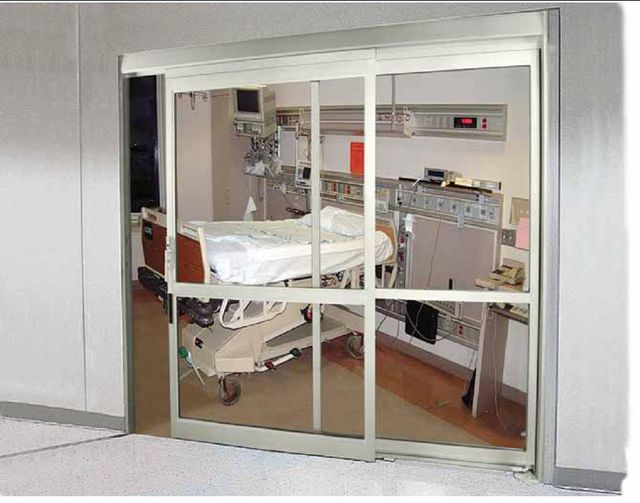 Hospital automatic sliding door in Honolulu, HI