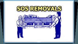 SOS removals logo