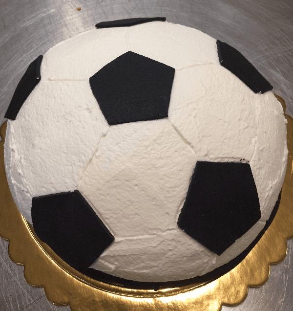 Semifreddo a forma di pallone