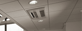 Mineral fiber suspended ceilings
