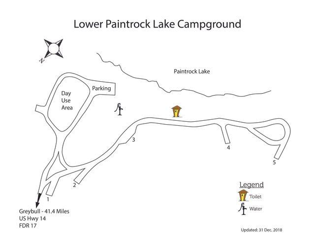 Lower Paintrock Lake