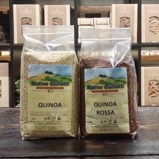 Quinoa, Quinoa rossa