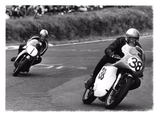 Marty and Mike Hailwood