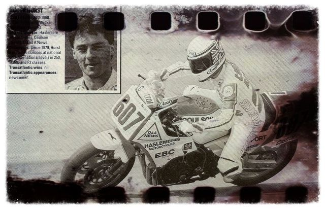Roger Hurst at Daytona