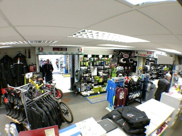 Service desk Haslemere motorcycles