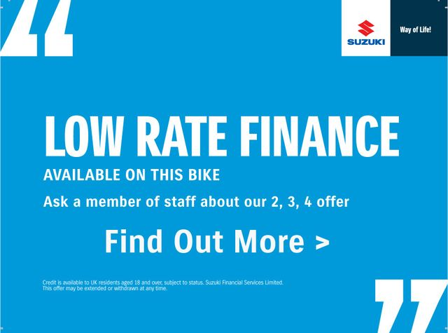 low rate suzuki finance