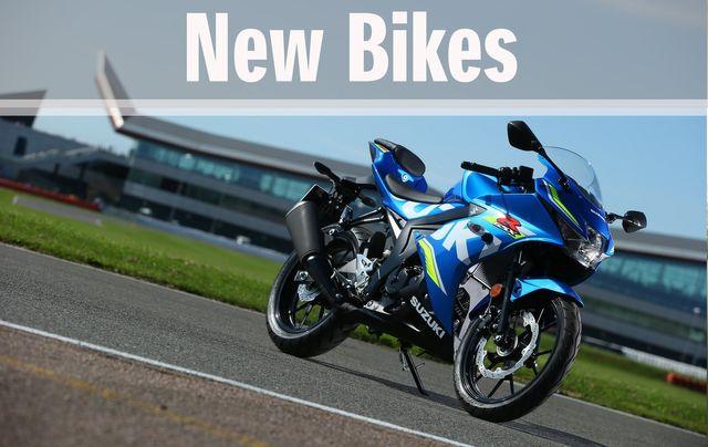 New Suzuki Bikes